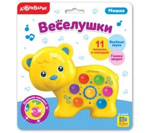Музыкальная игрушка-веселушка «Мишка»
