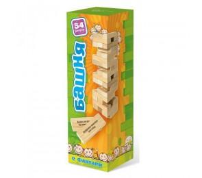 Башня деревянная с заданиями