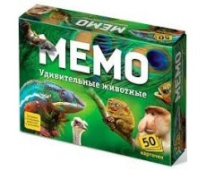 Игра «МЕМО. Удивительные животные