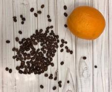 """Кофе десертный """"Апельсин на основе Бразилии Сантос"""""""