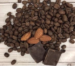 """Кофе десертный """"Миндаль в шоколаде на основе Бразилии Сантос"""""""